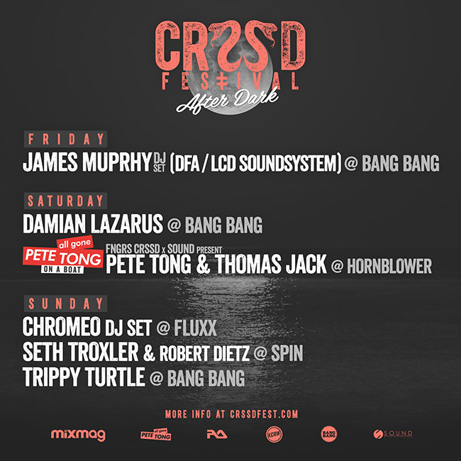 CRSSD Festival After Dark KX 935 FM